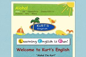 Kurt's EnglishのHP