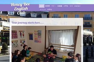 Honey Bee English ClubのHP