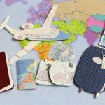 海外旅行のイラスト