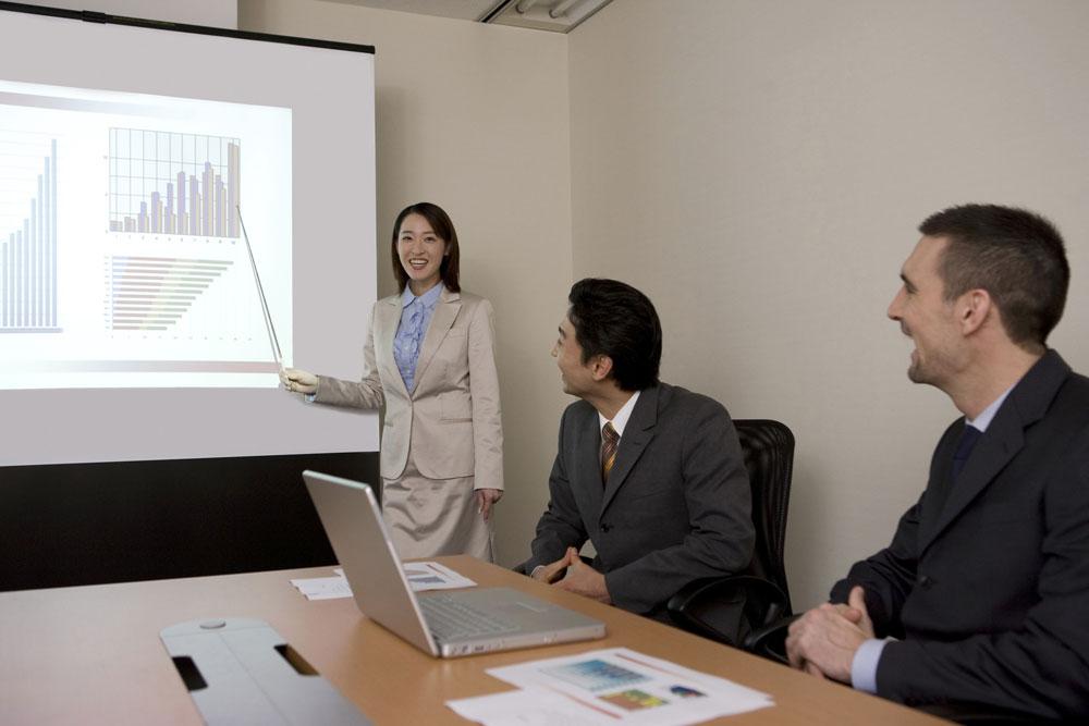 日系企業で仕事