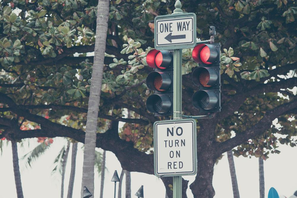 アメリカの交通ルール