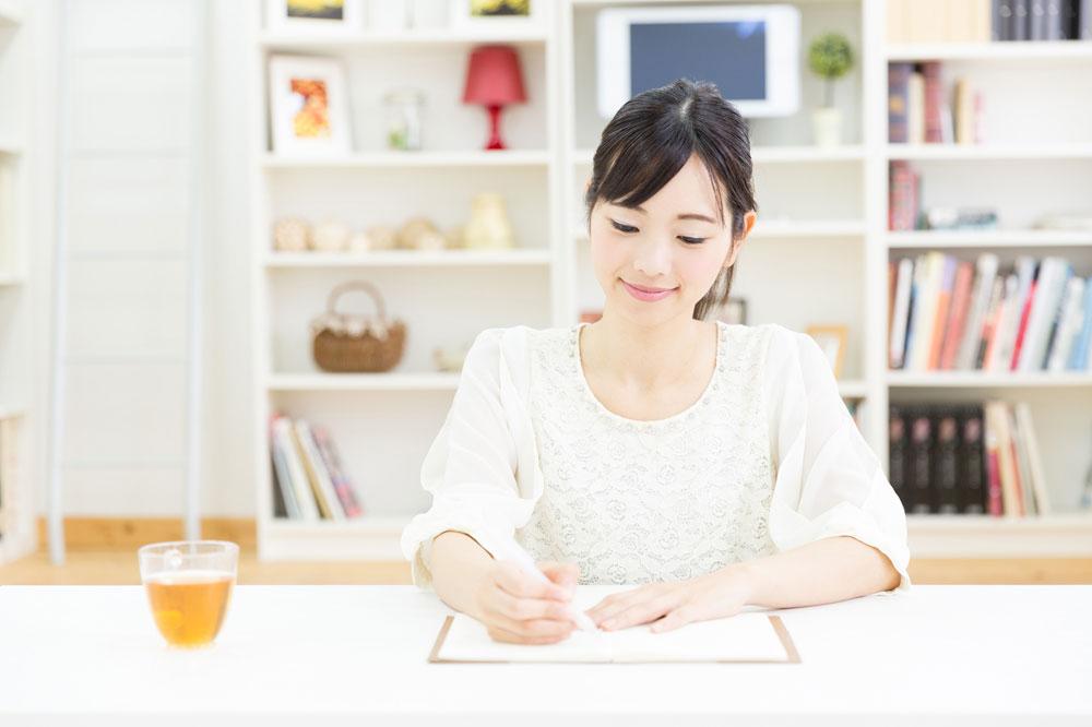 英語の勉強中
