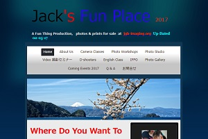 jack's fun placeのHP