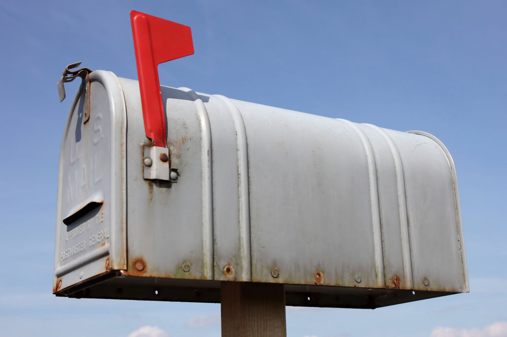 アメリカの郵便ポスト