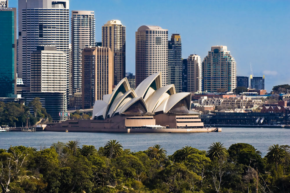 オーストラリア オペラハウス