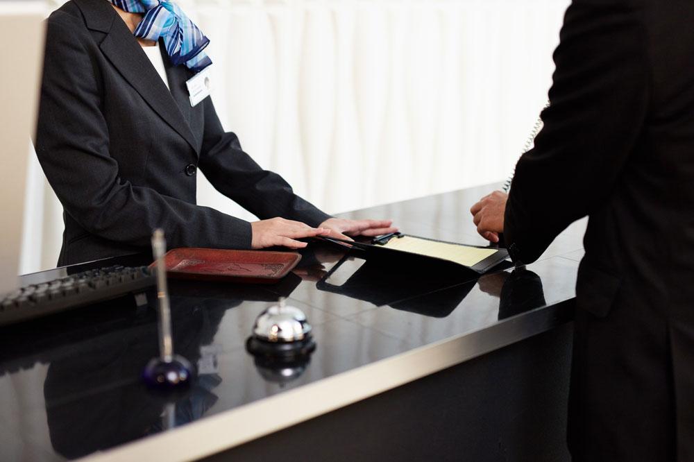 ホテルの会計